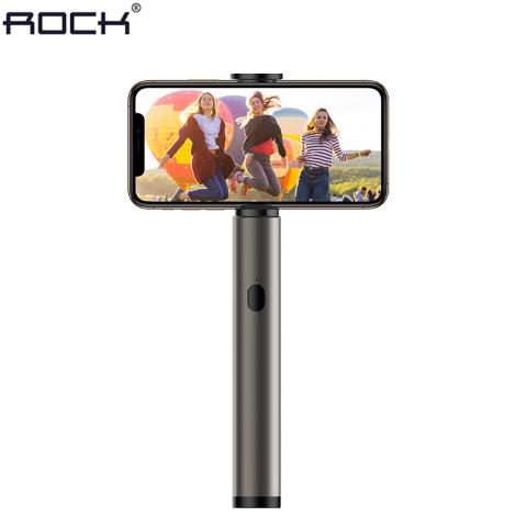 Monopod Selfie Stick Bluetooth Magic Flaute da ROCK Cinza
